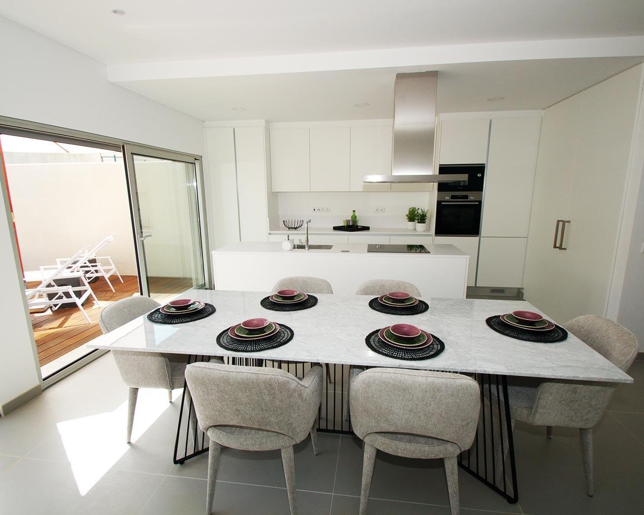 ferragudo-design-villas-cuisine-salle à manger
