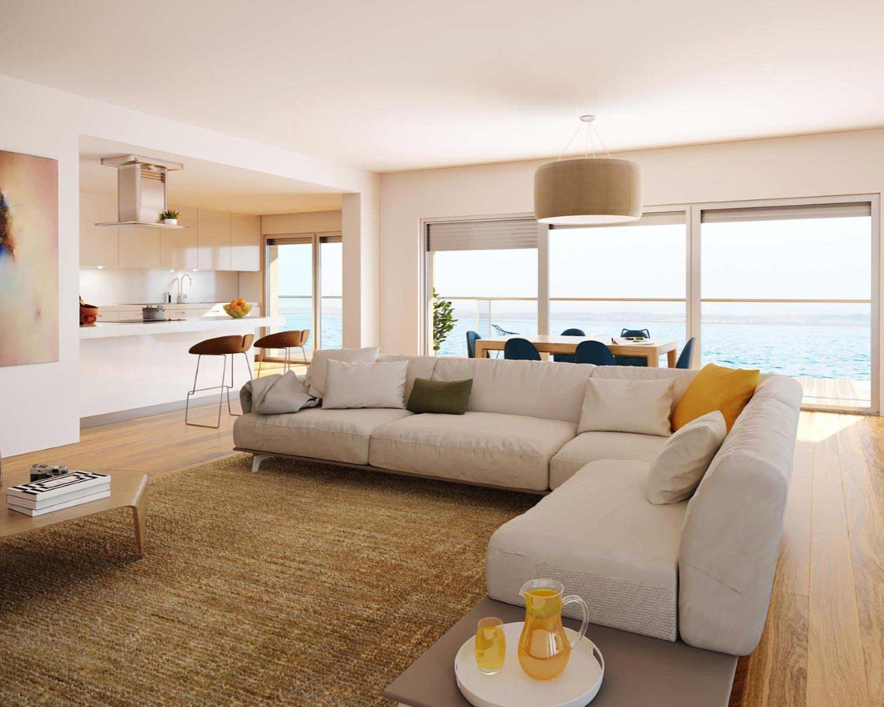 Tagus Bay - Living room