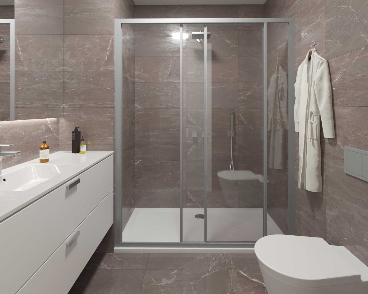 Bathroom - option Tortora