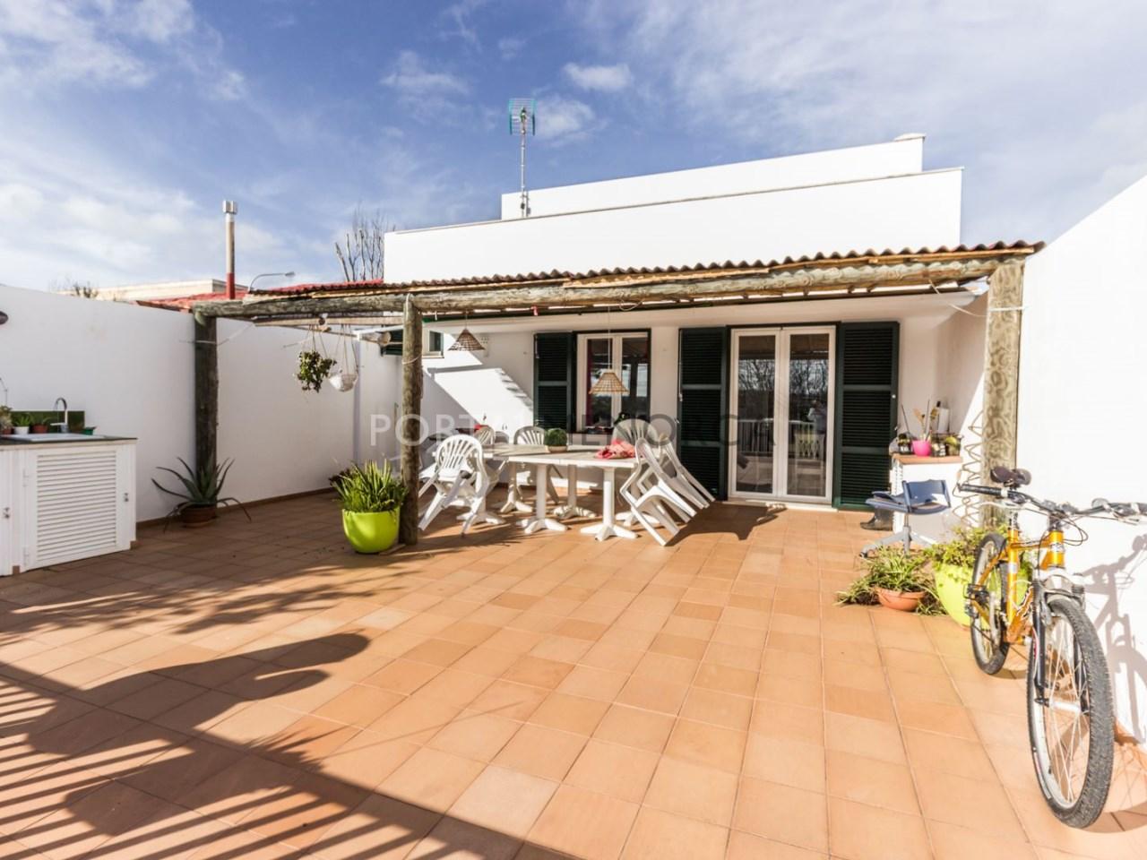 casa con patio para vender en Mahon (16 de 17)