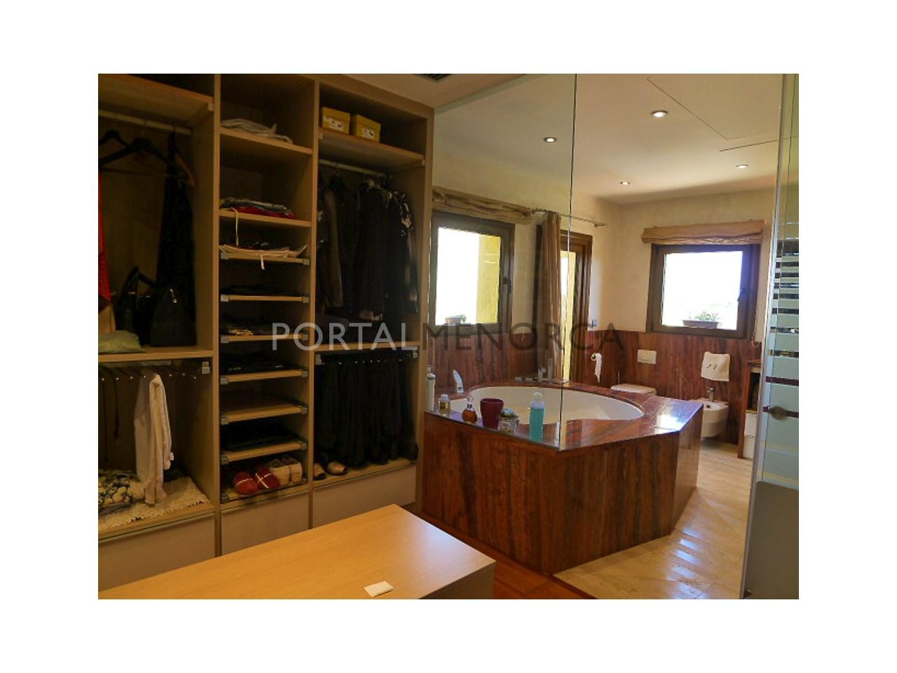 baño vestidor