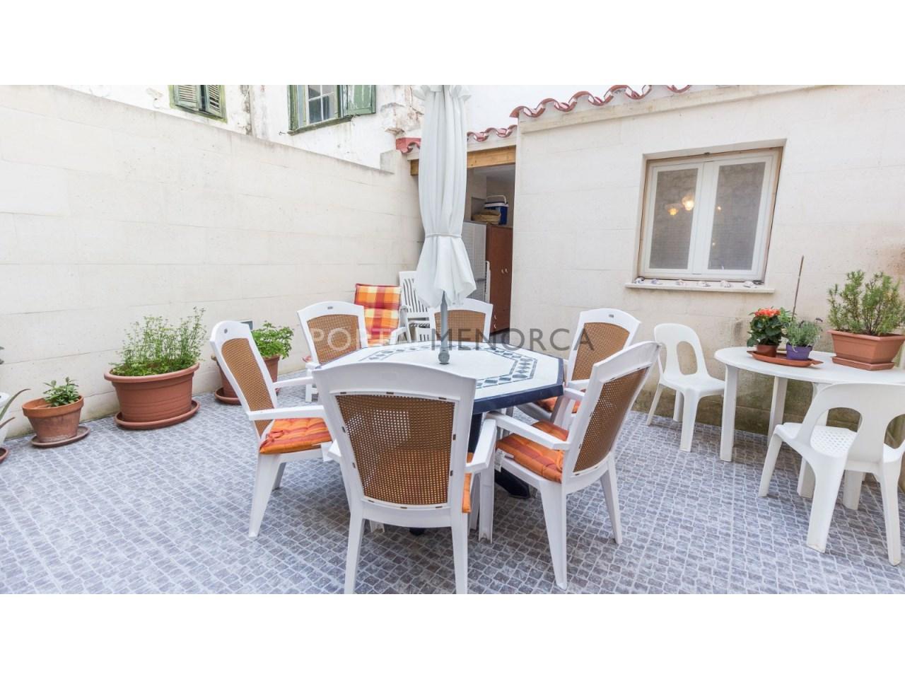 casa con patio en el centro historico de Mahon (9 de 12)