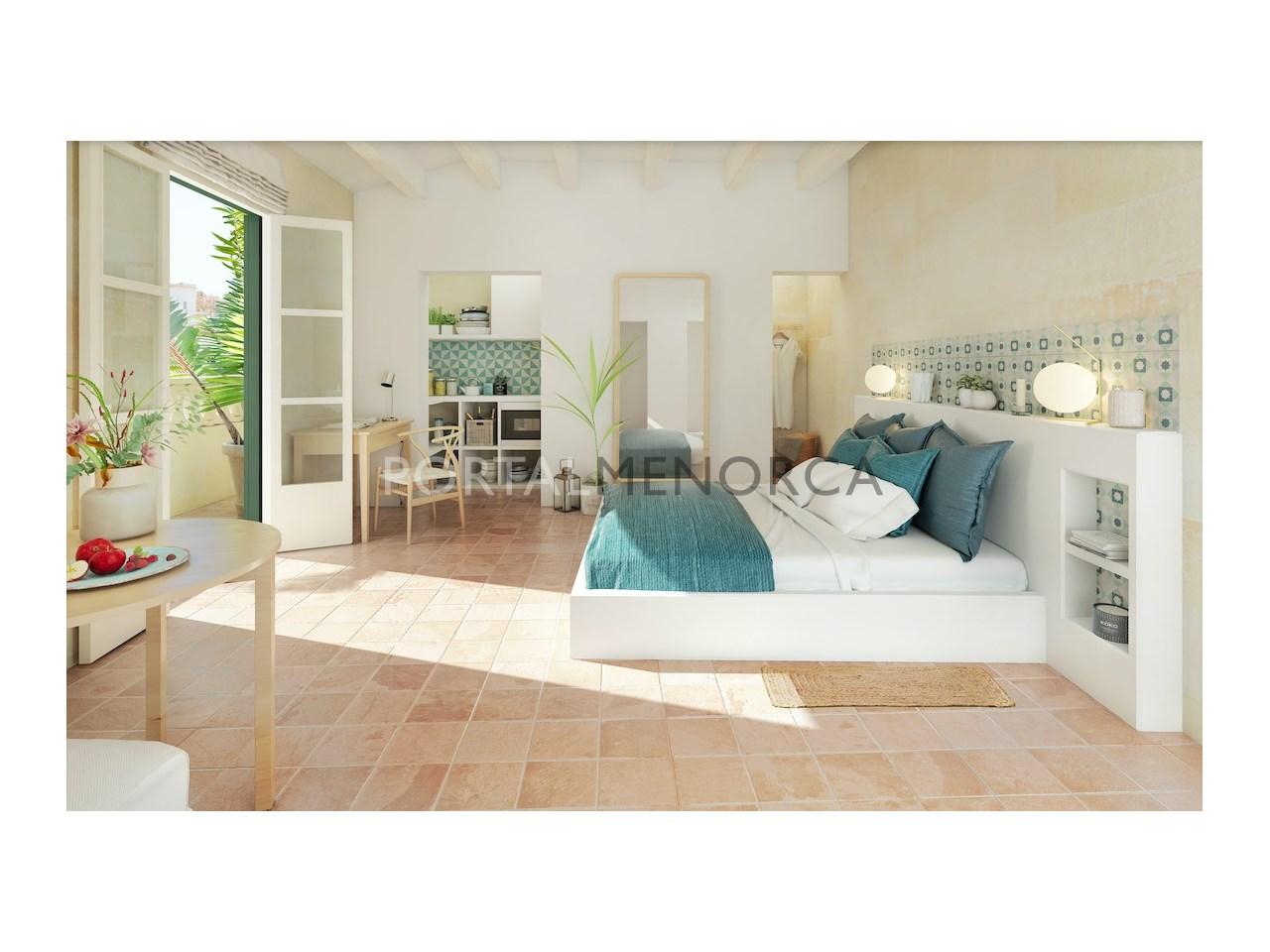 A3 Bedroom render