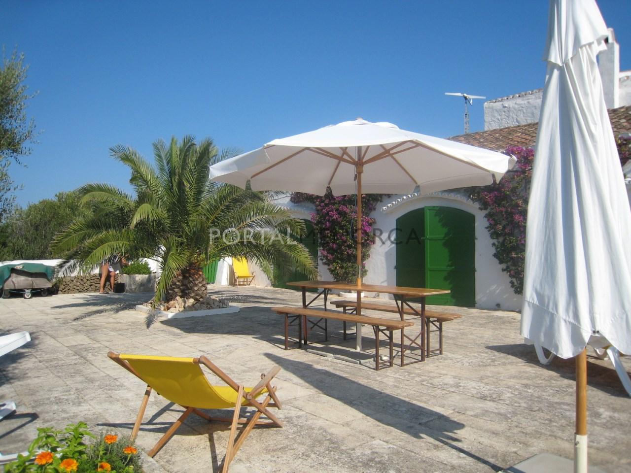 For sale unique property in Menorca
