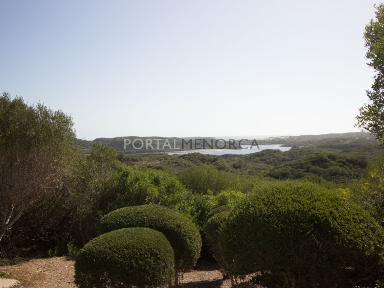 Views overlooking Es Grau bay