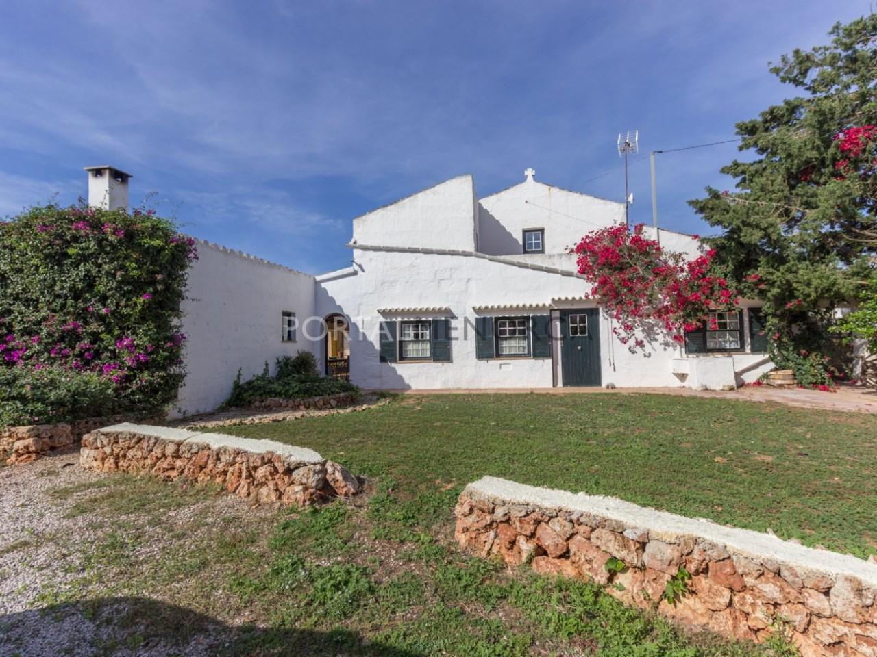 Casa de campo con piscina en venta en Mahon (24 de 24)