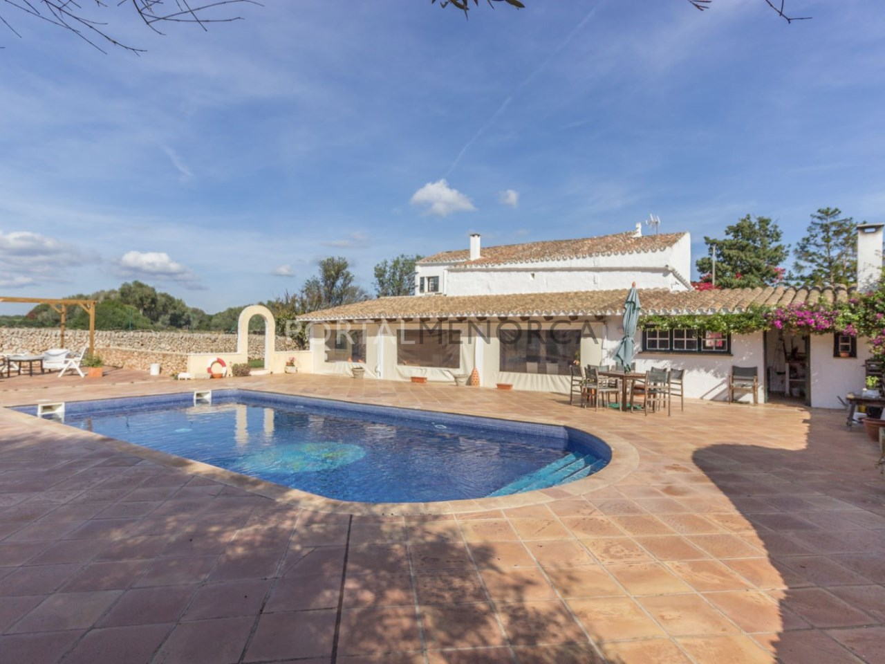Casa de campo con piscina en venta en Mahon (20 de 24)