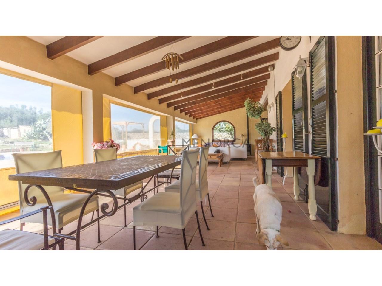 Casa de campo con piscina en venta en Mahon (1 de 24)