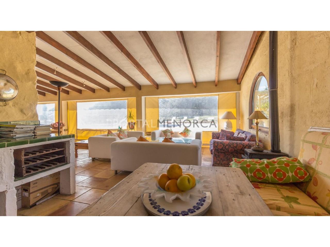Casa de campo con piscina en venta en Mahon (6 de 24)