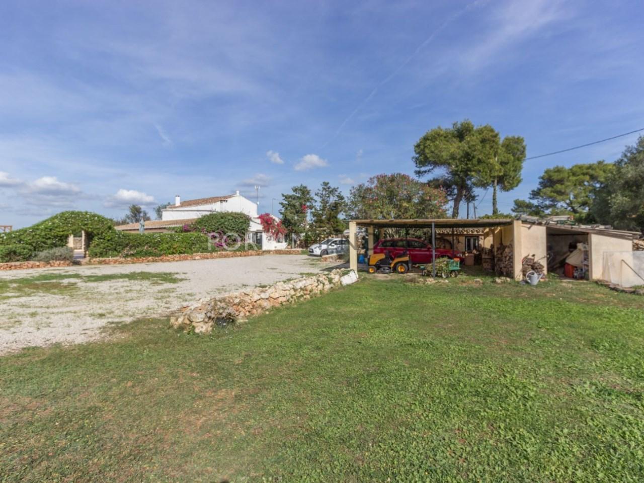 Casa de campo con piscina en venta en Mahon (22 de 24)