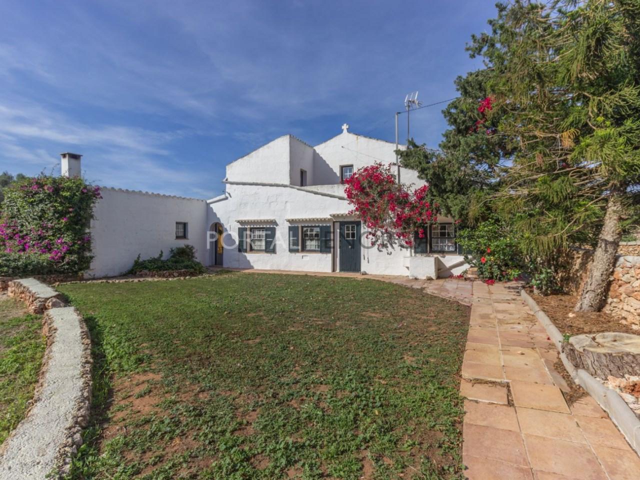Casa de campo con piscina en venta en Mahon (23 de 24)