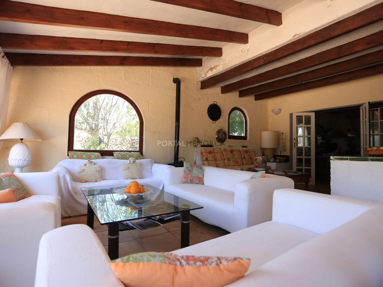 Our Terrace Lounge area