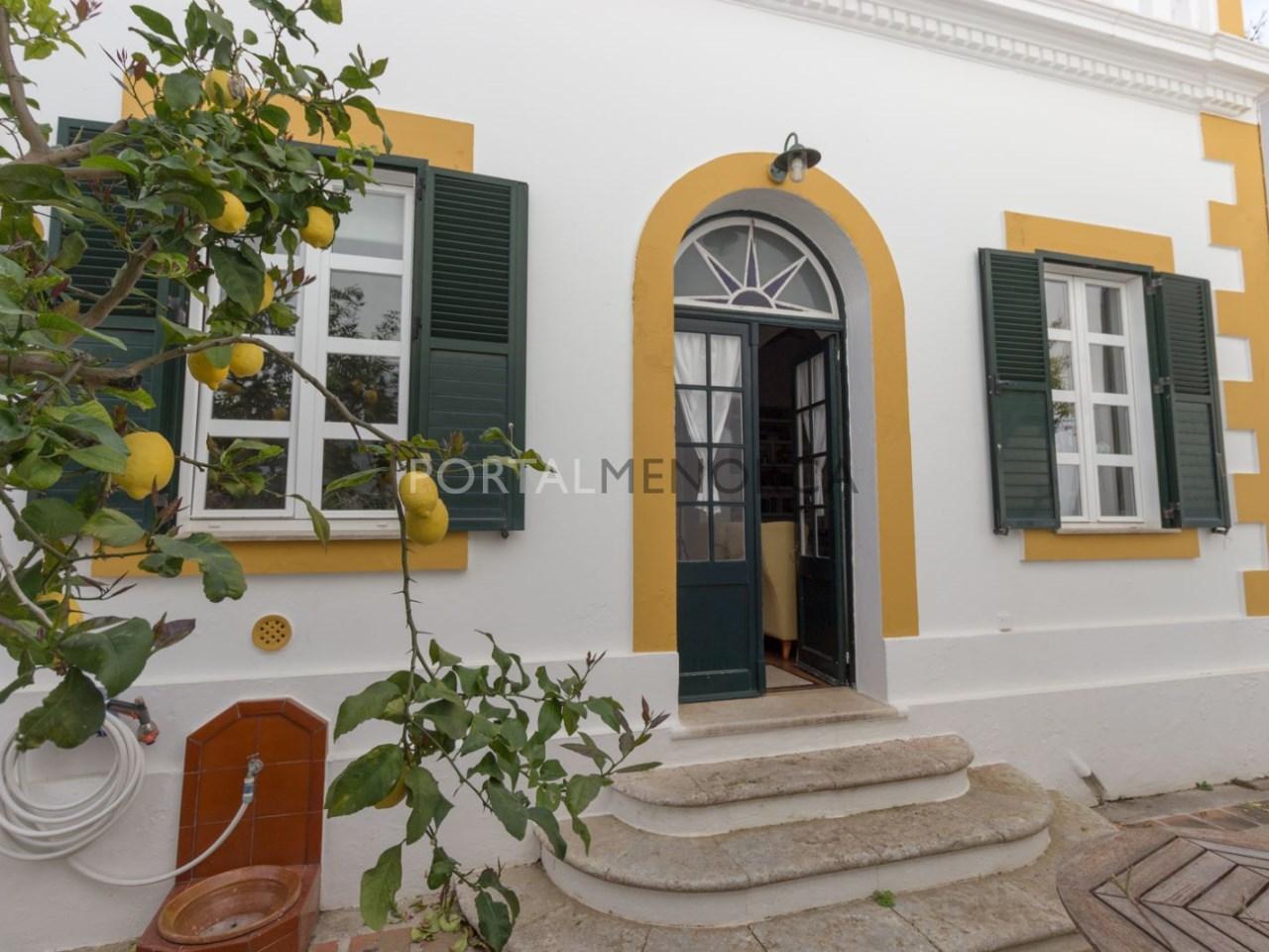 casa con jardin en Es Castell (25 de 38)