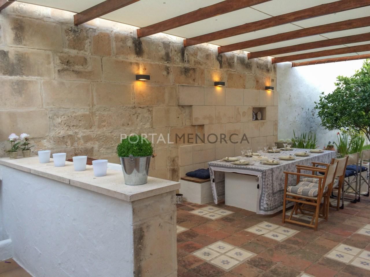 Casa con patio en es Castell (2 de 5)