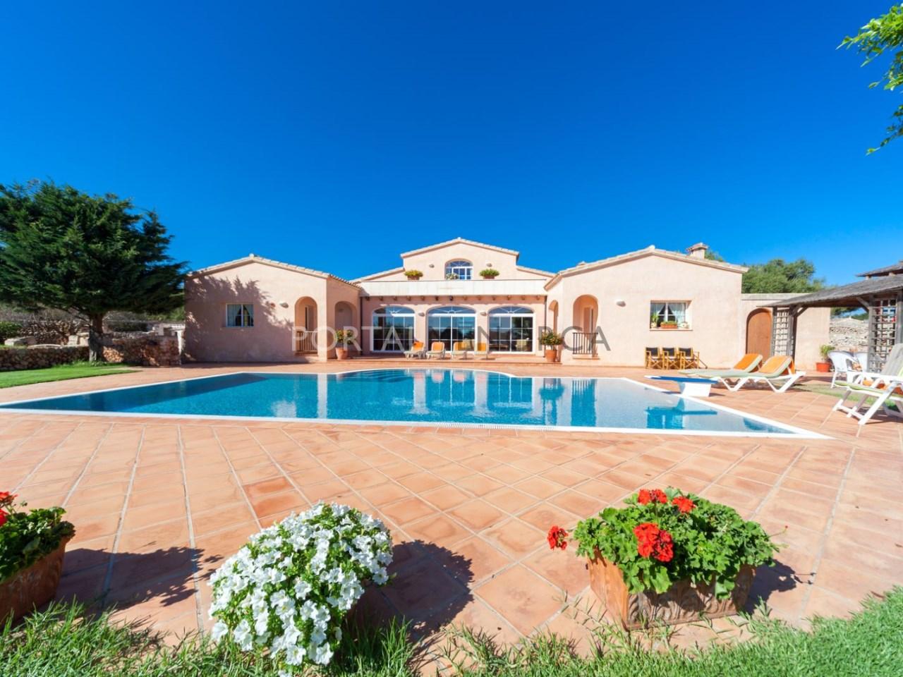 Casa de campo con piscina en Menorca (6 de 41)