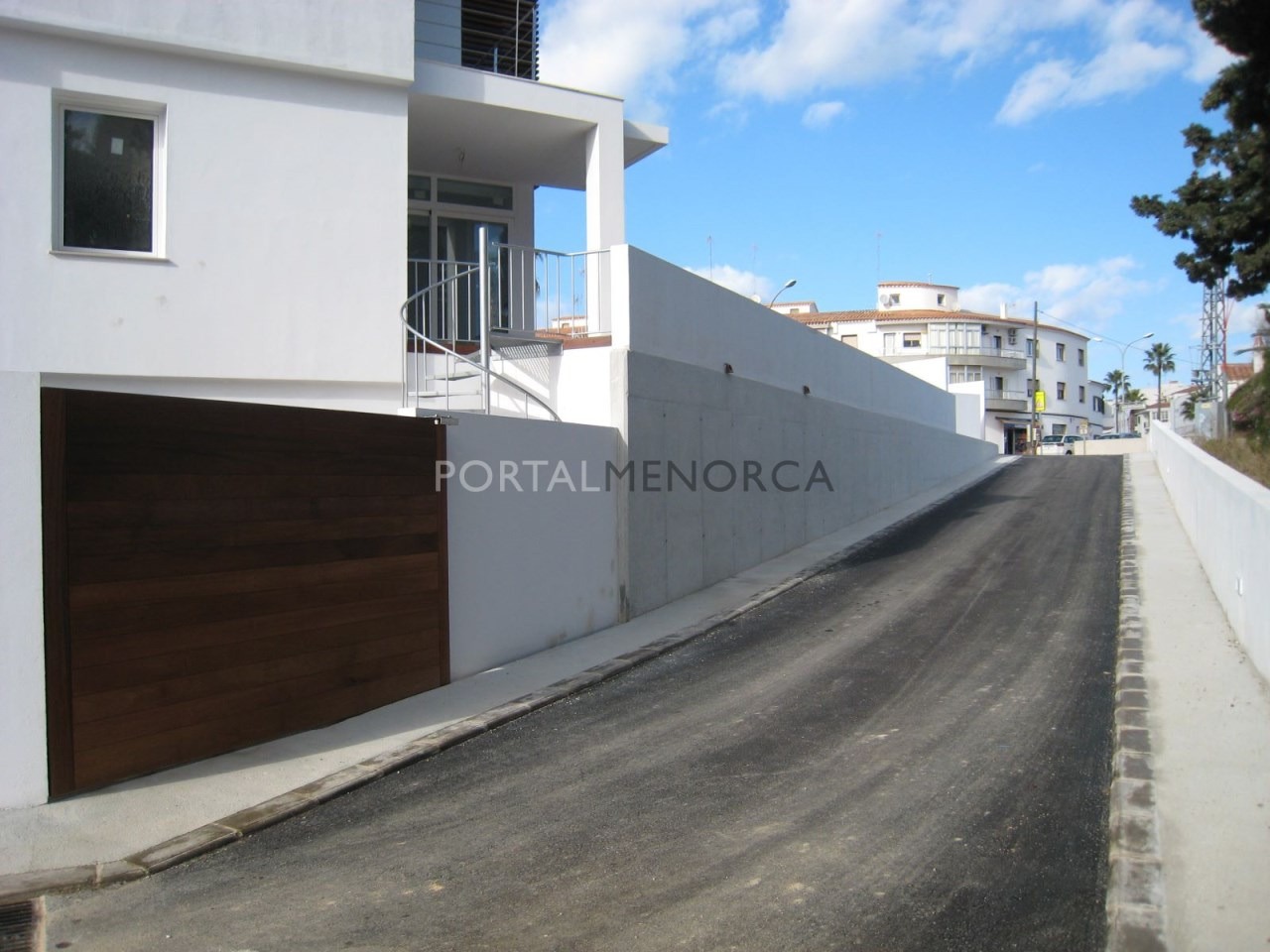 salida calle interior