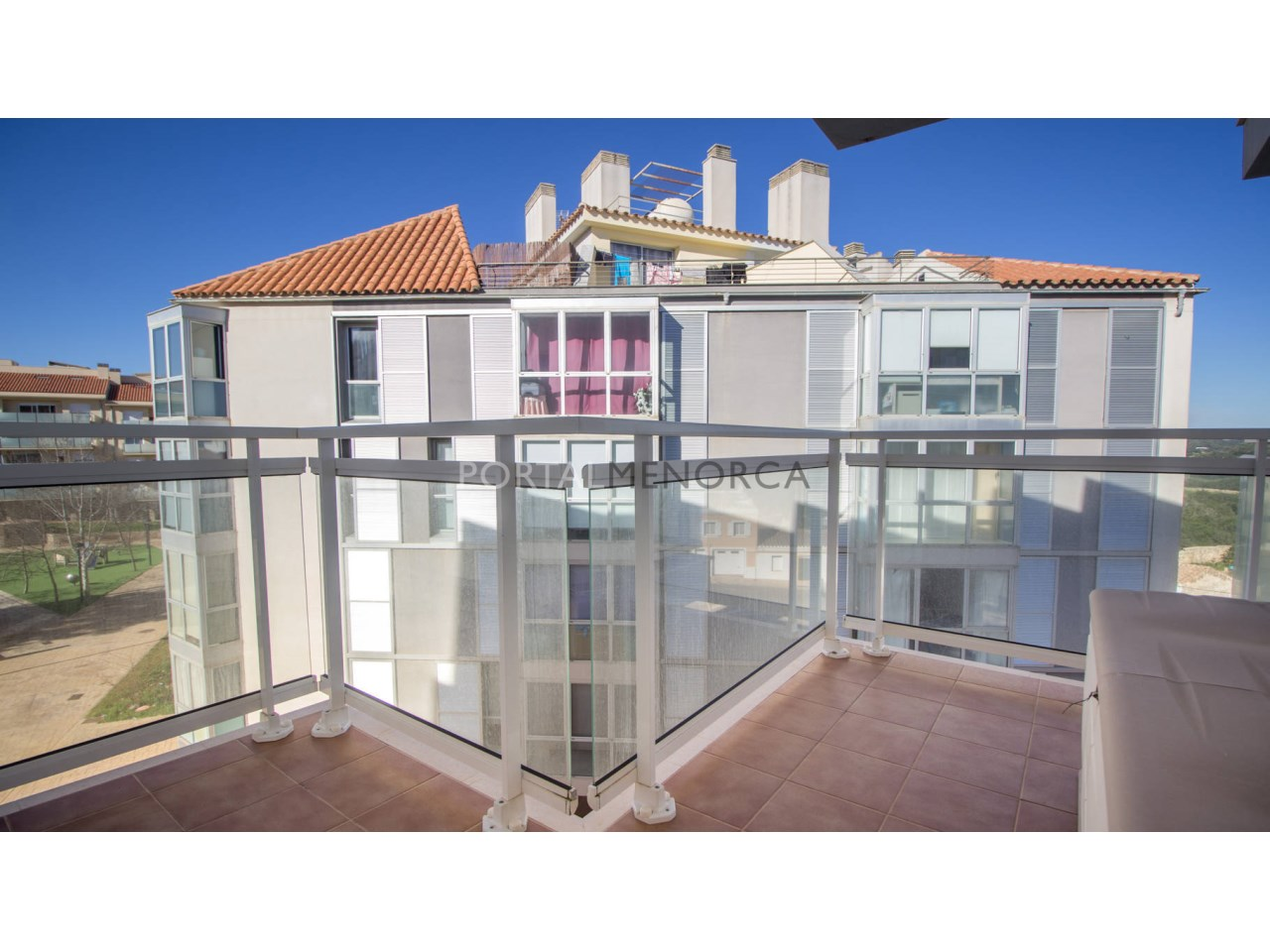 Flat with terrace for sale in Mahón