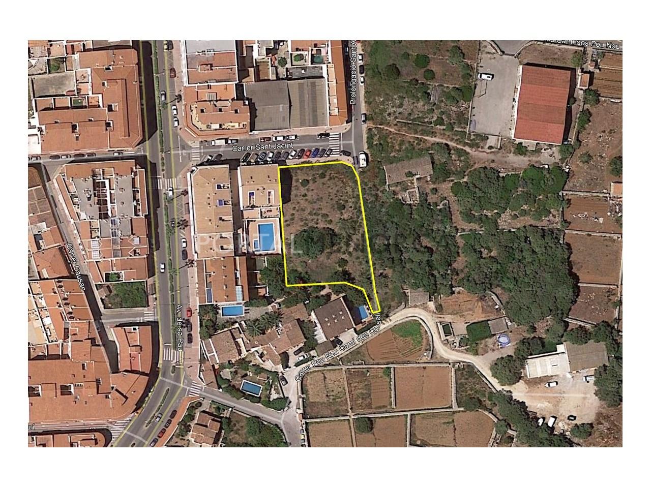 Plot of land for sale in Menorca