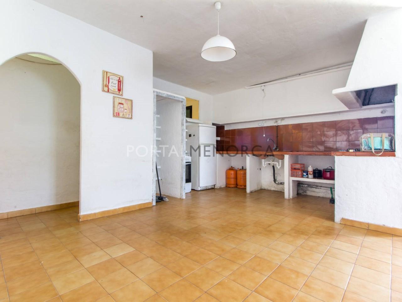 Apartamento en planta baja en venta cerca de la playa d'Es Grau