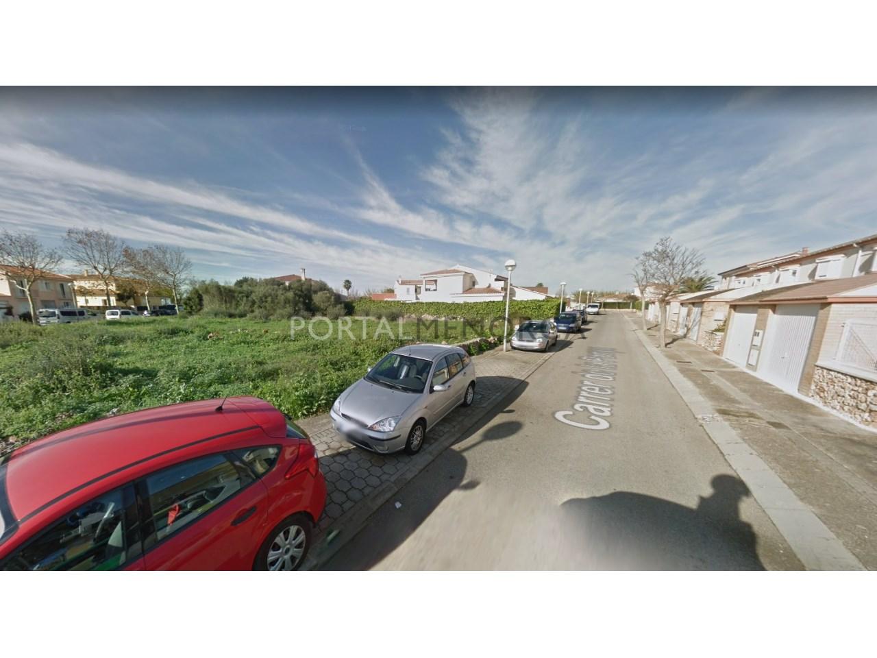 Parcela edificable en venta en Menorca