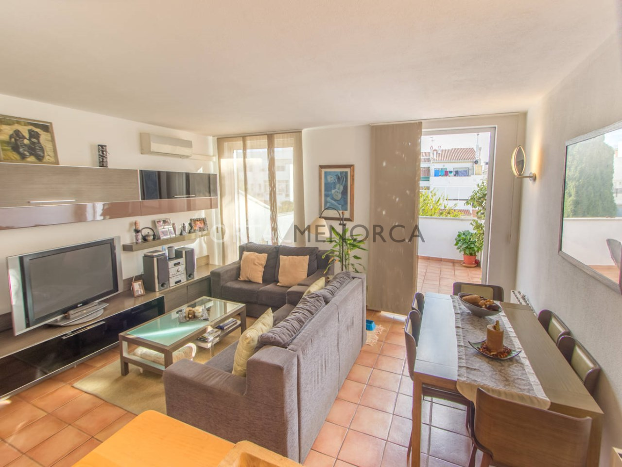 Duplex with terrace for sale in Menorca