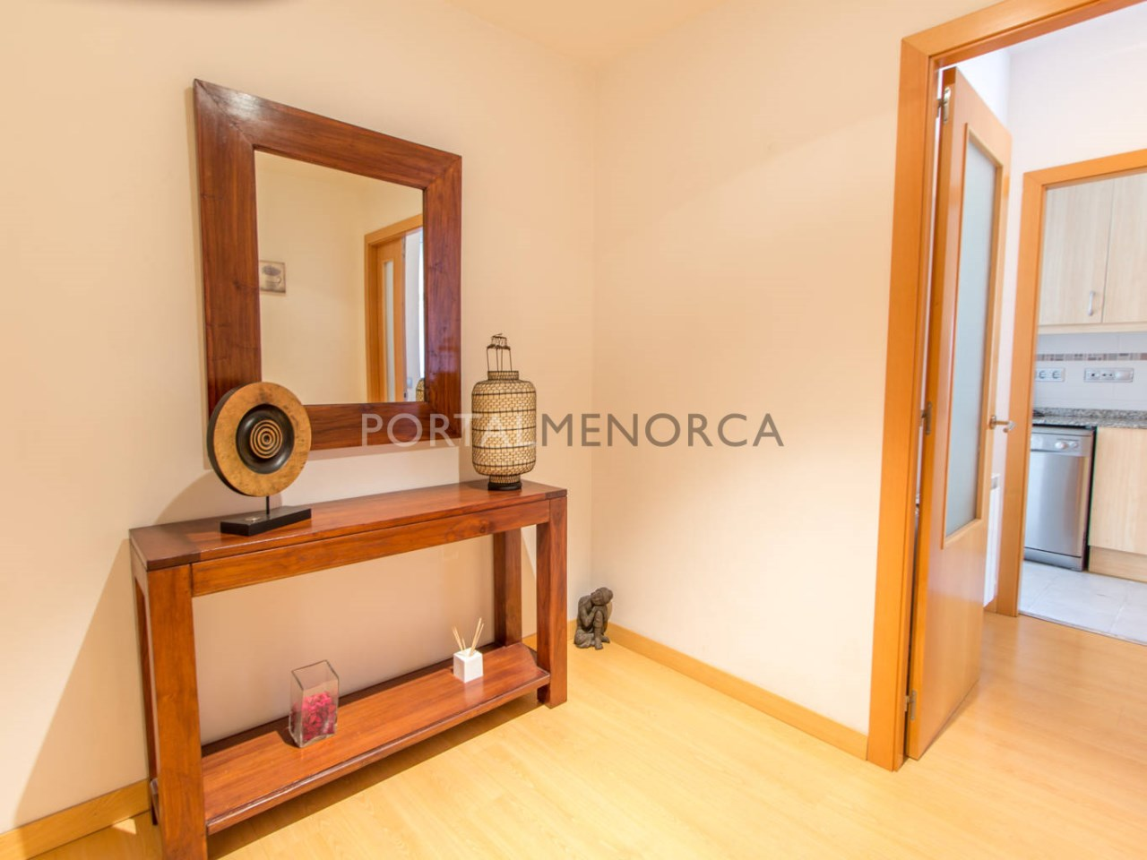 Large flat with terrace for sale in Mahón
