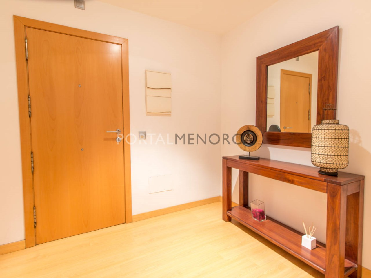 Spacious apartment with terrace for sale in Menorca\n