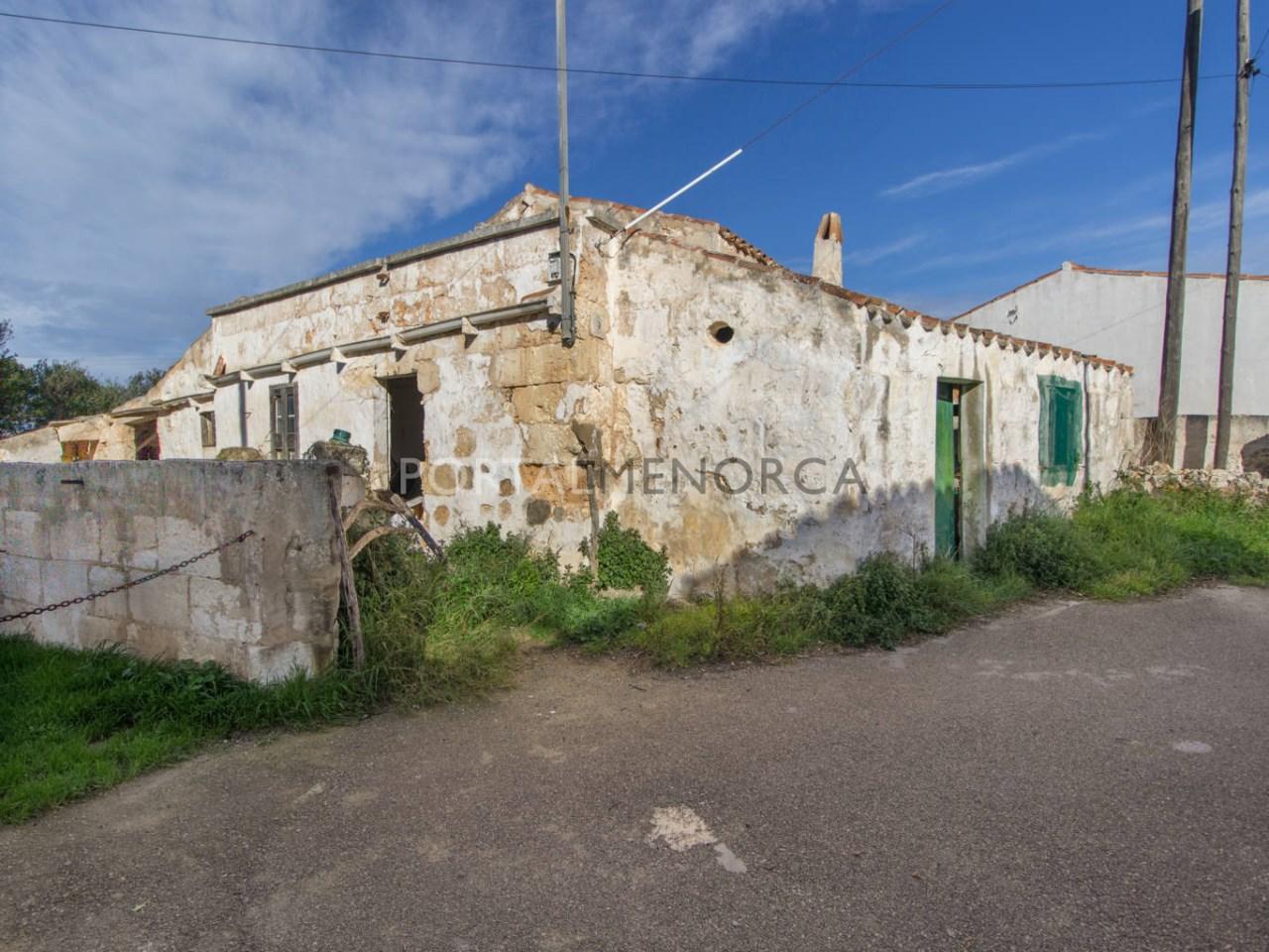 Achat maison de campagne avec grand terrain à Minorque
