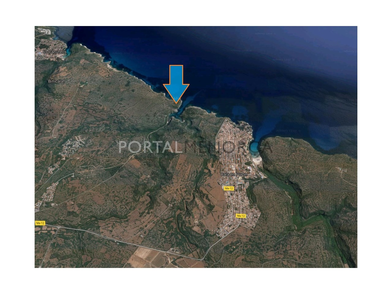 Large rustic land for sale near Cales Coves