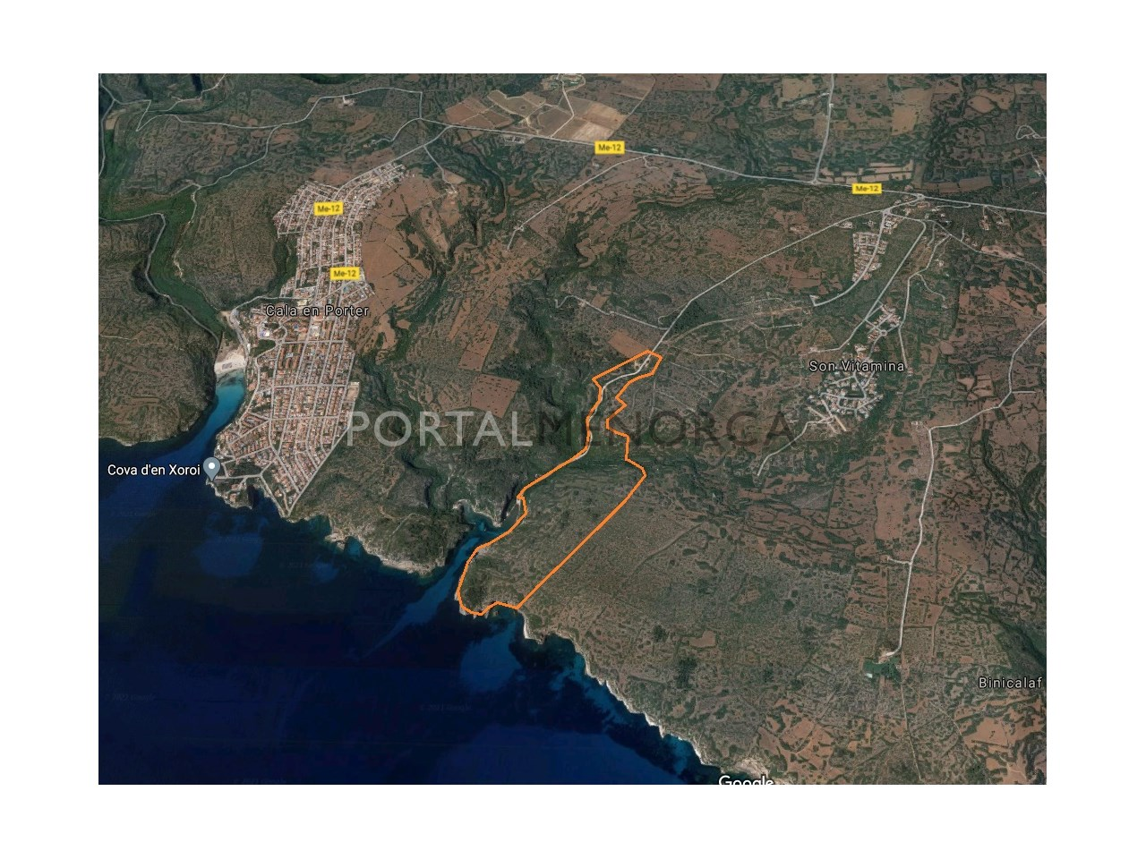 Large rustic land for sale in Menorca