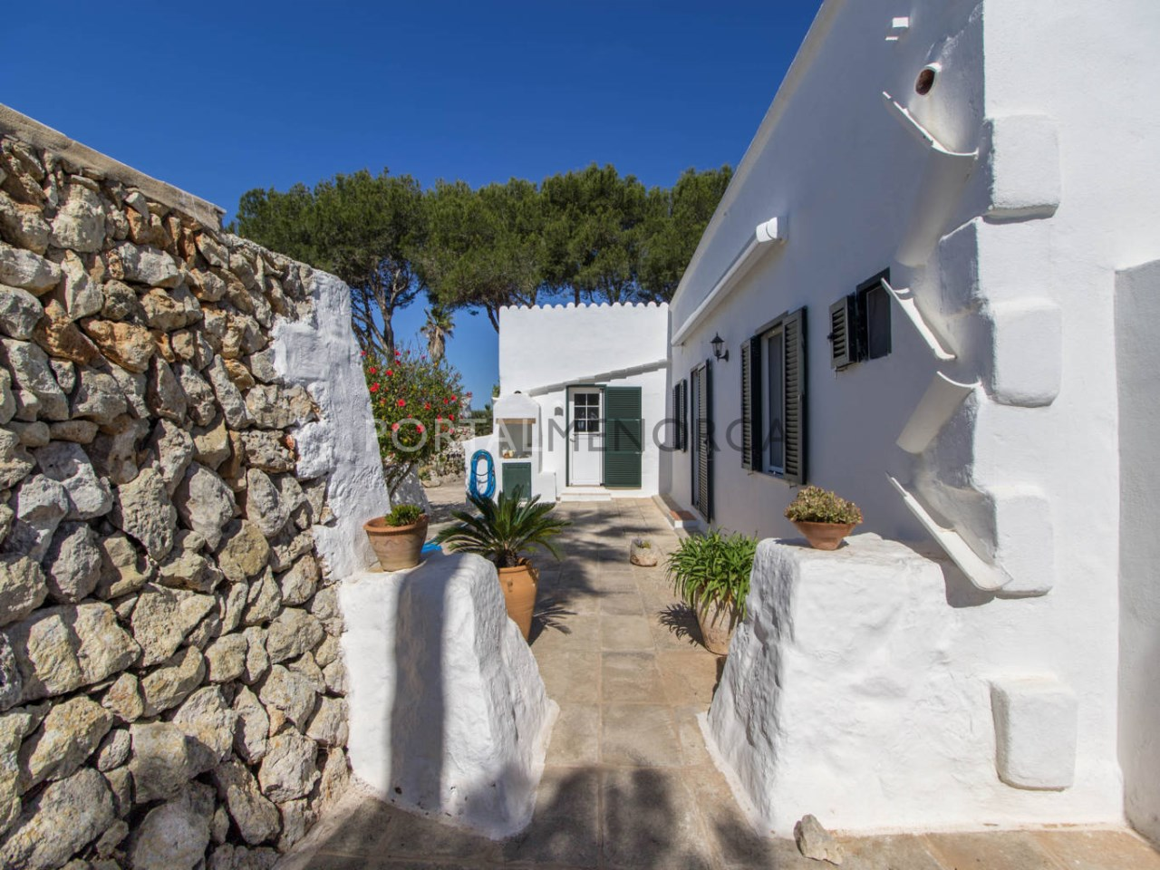 Country house with sea view for sale in Menorca