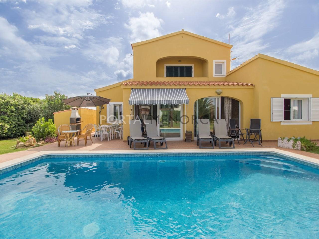 Chalet con licencia turística en venta en Menorca