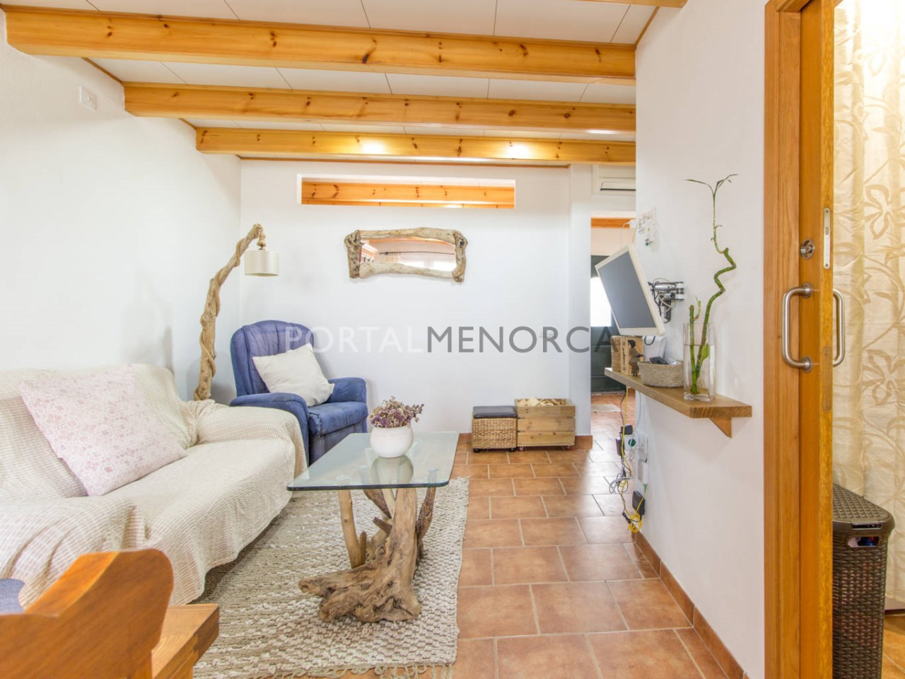 House with patio and terrace for sale in Ferreries