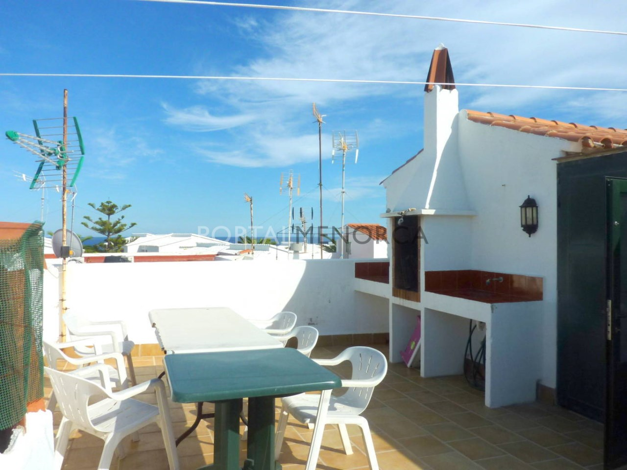Apartment for sale in S'Algar, Menorca with sea view
