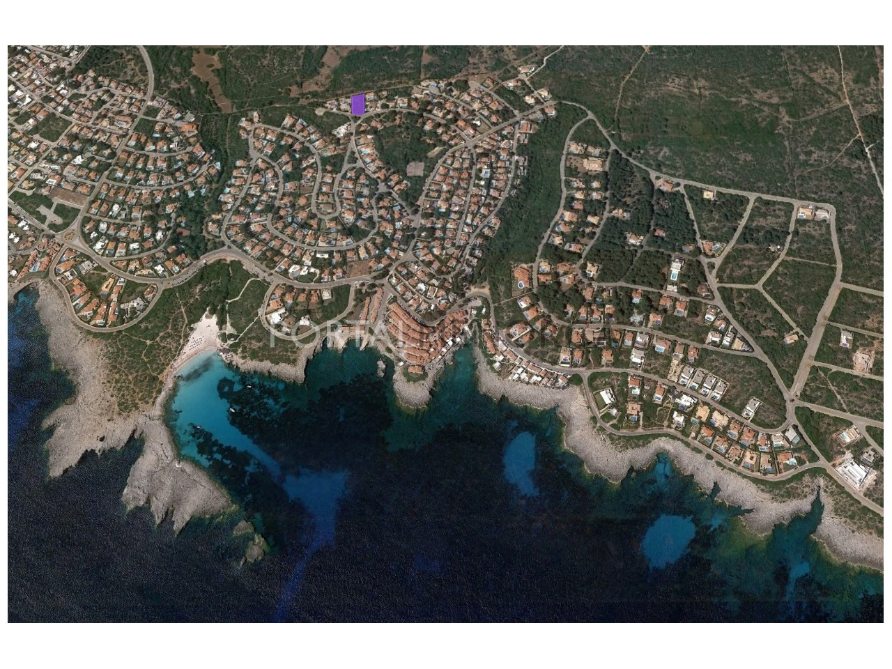 Plot by the sea for sale in Binibeca Nou