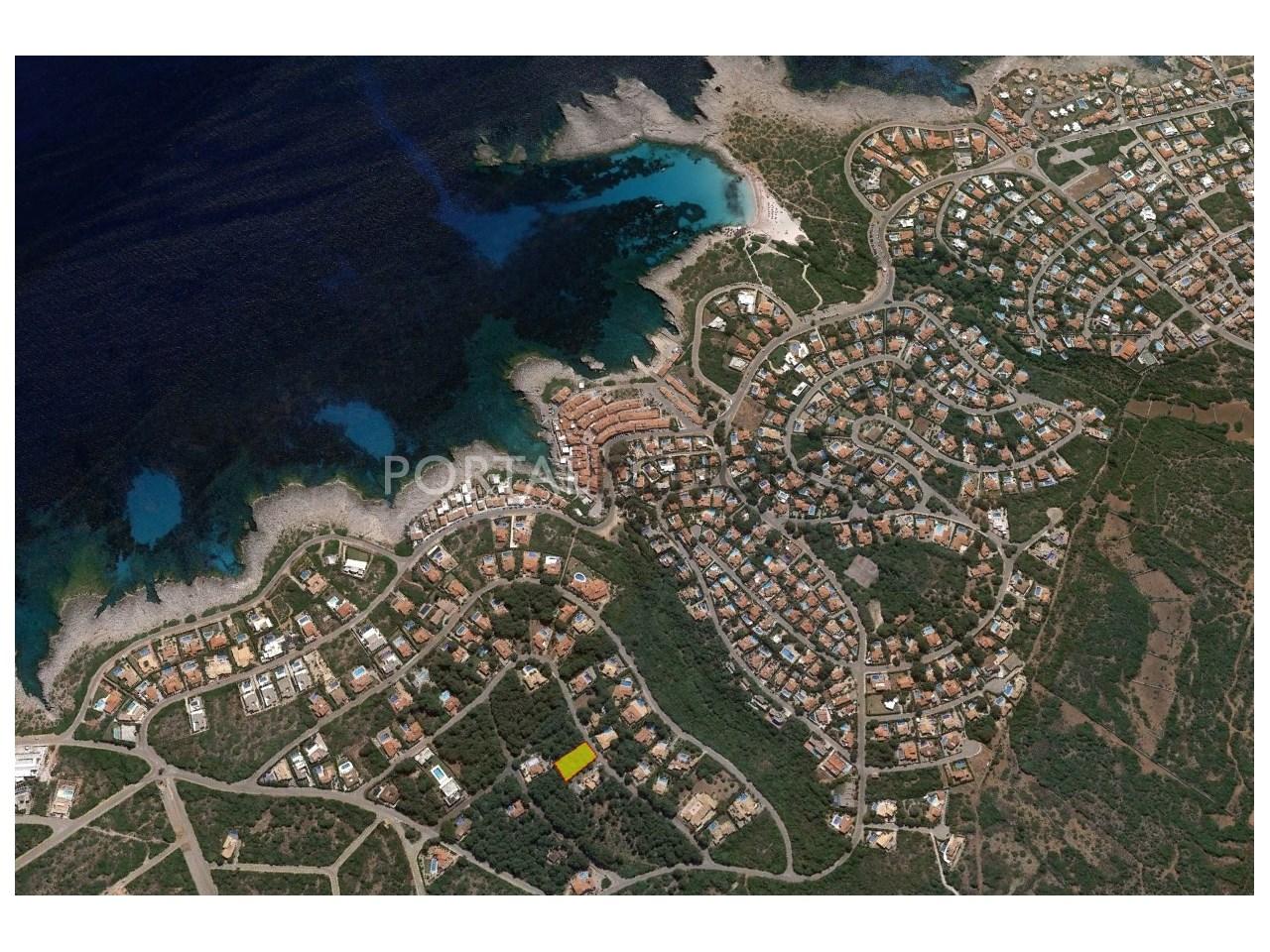 Parcela en venta cerca del mar en Menorca
