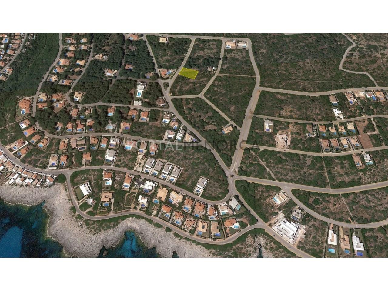 Parcela cerca del mar en venta en Menorca