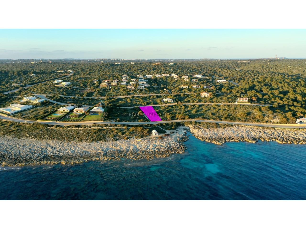 Building sea-front plot of land for sale in Torret de Baix