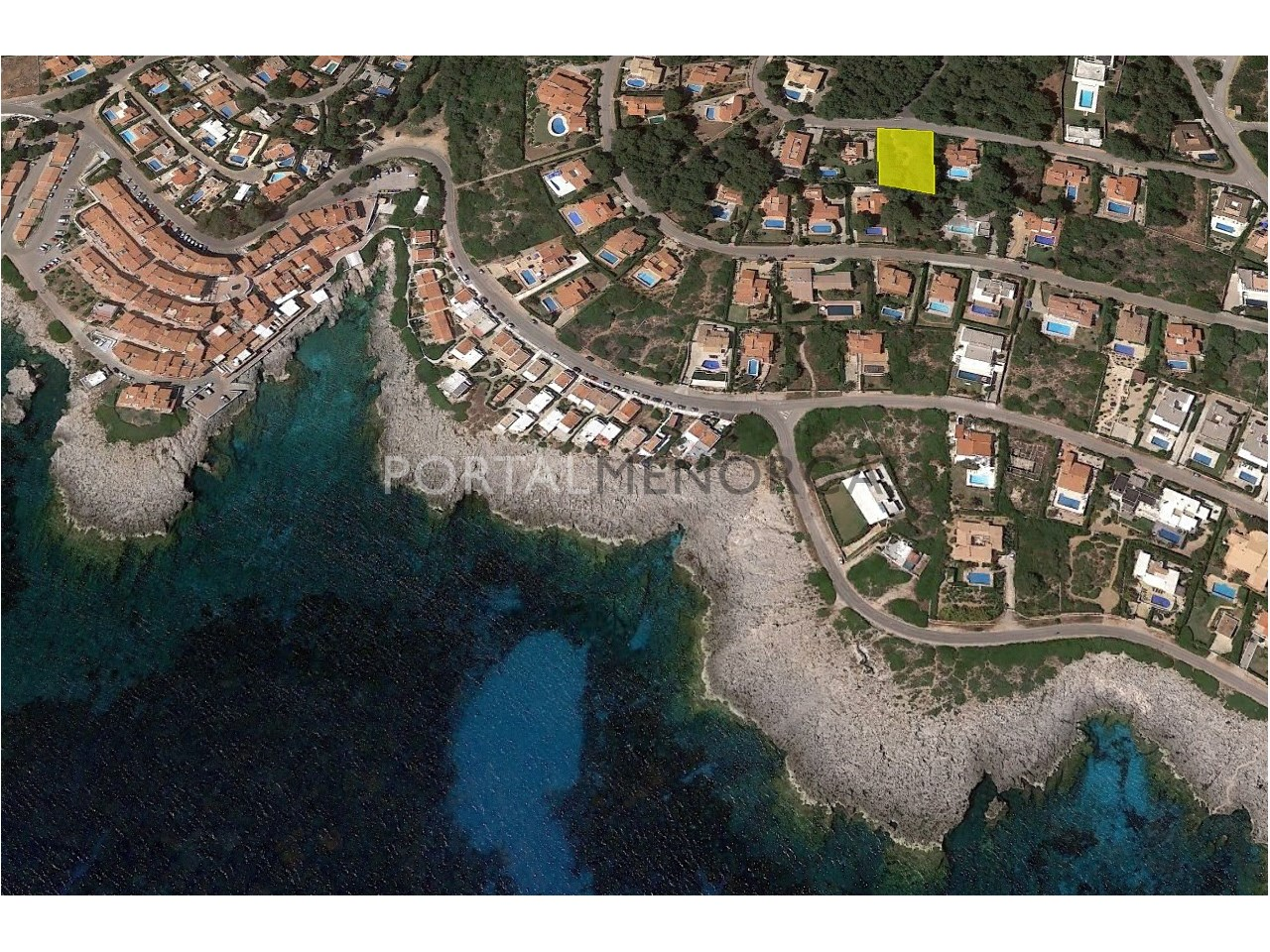 Large plot of land by the sea for sale in S'Atalaia