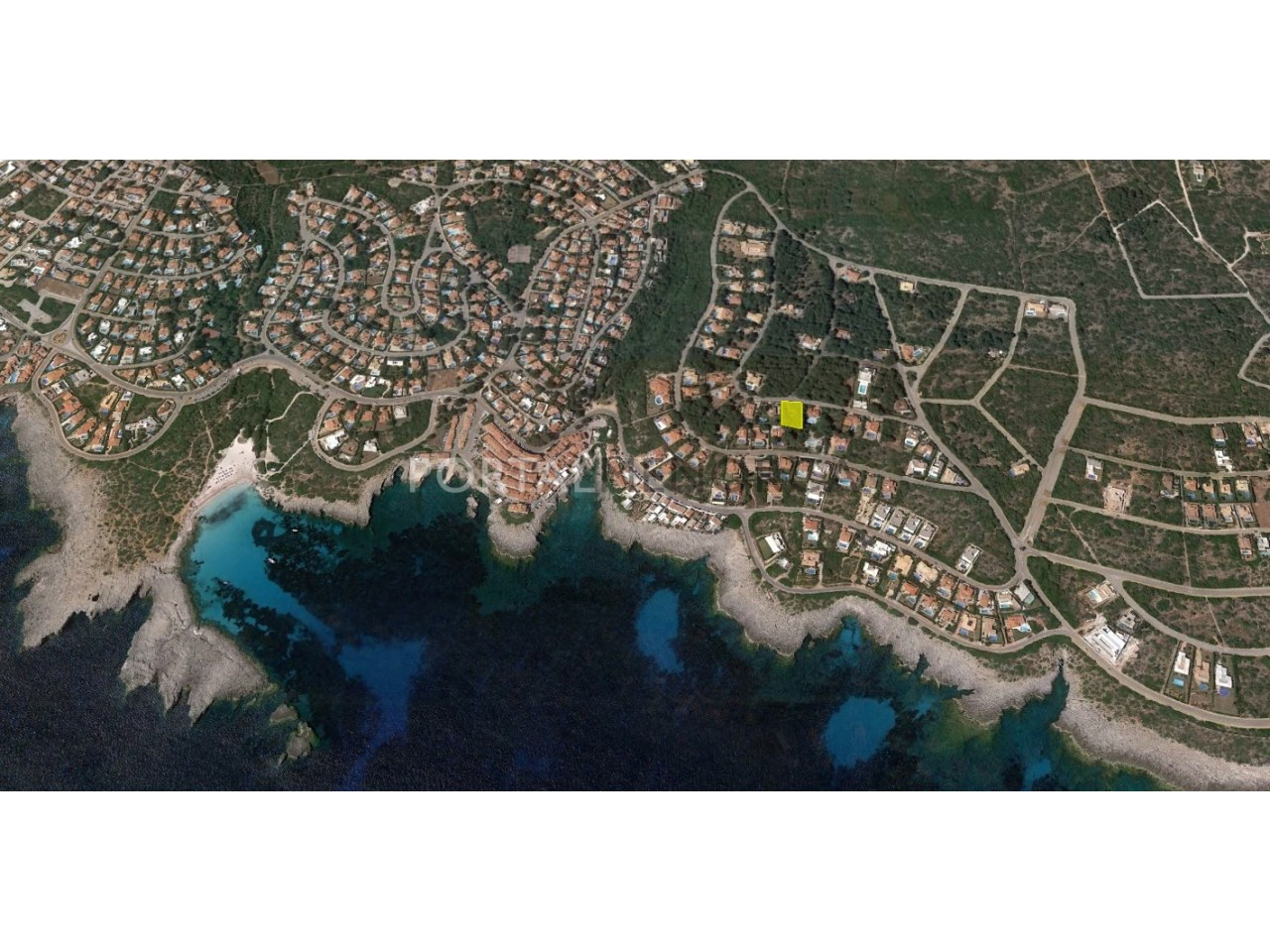 Large plot of land by the sea for sale in Menorca