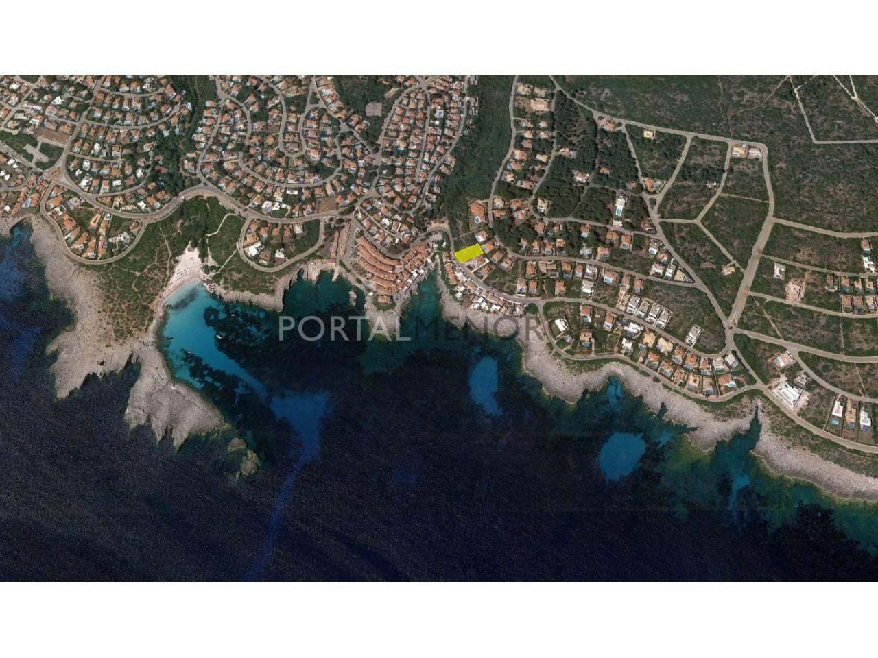 Plot of land by the sea for sale in S'Atalaia