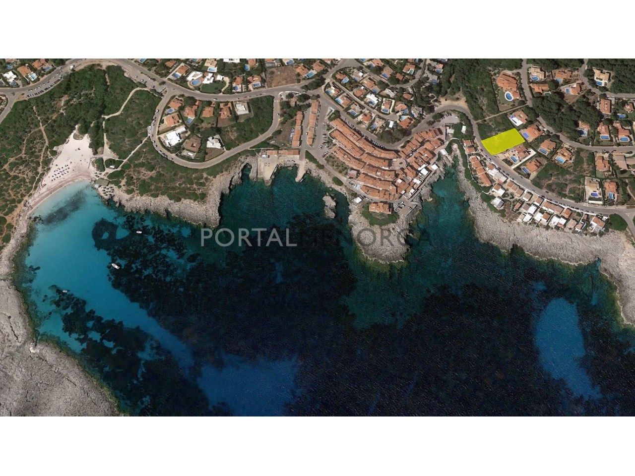 Plot of land by the sea for sale in Menorca