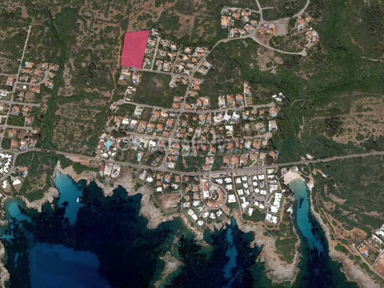 Conjunto de 6 parcelas en venta en Menorca