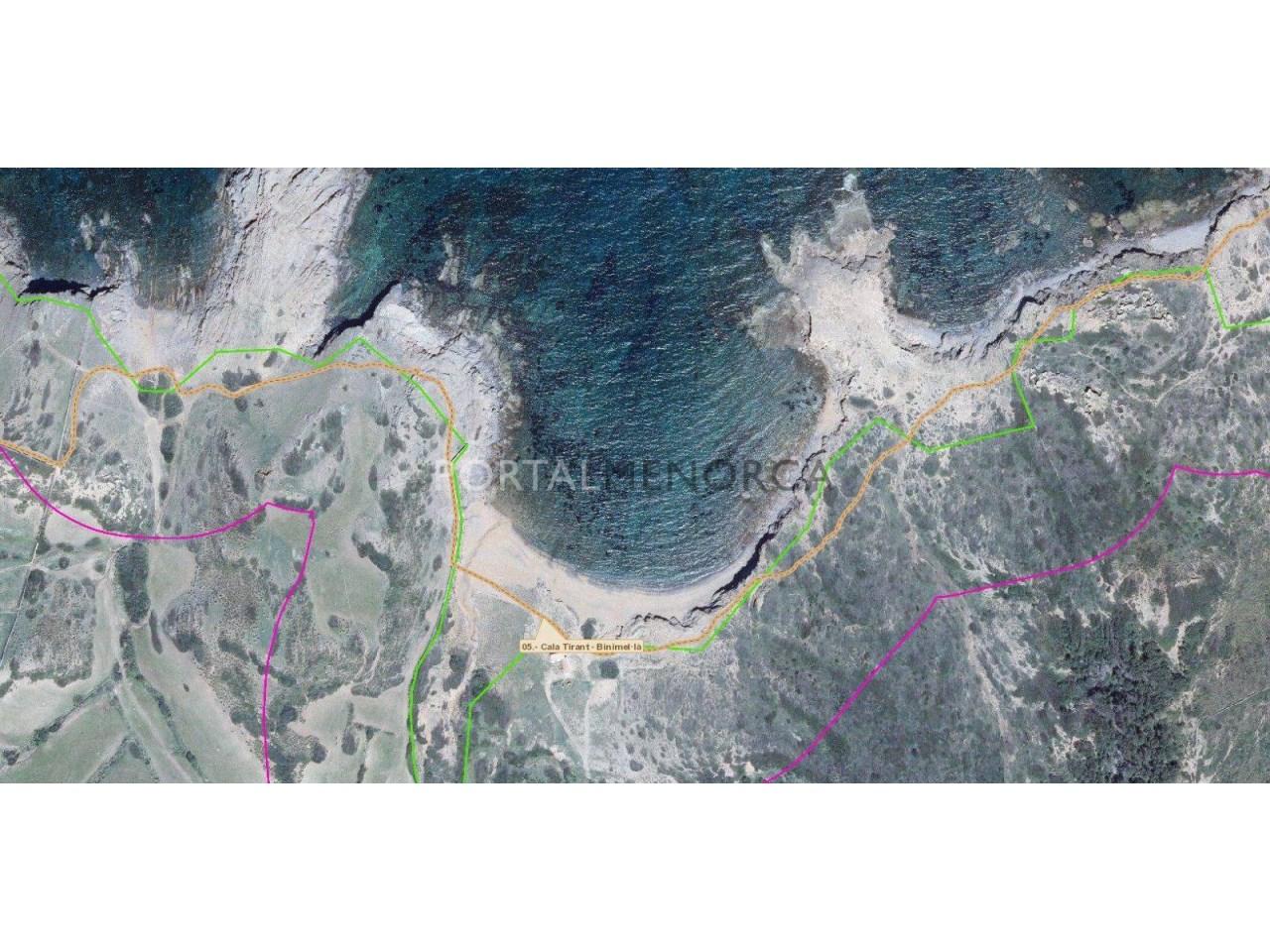 Re_ S1229_Lindes costa y camí de cavalls (CASETA CALA MICA)