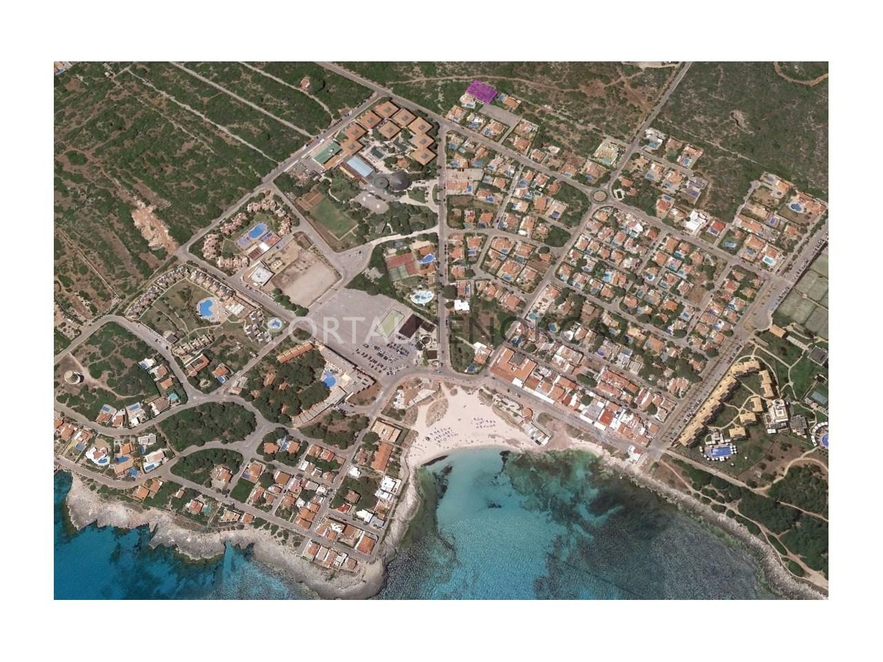 Parcela con vistas el mar en venta en Menorca