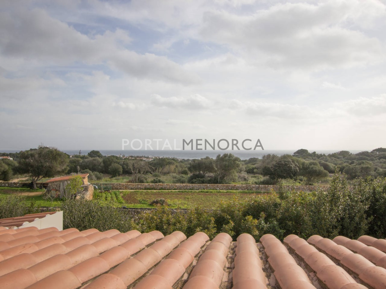 Country house with sea view for sale in S'Algar