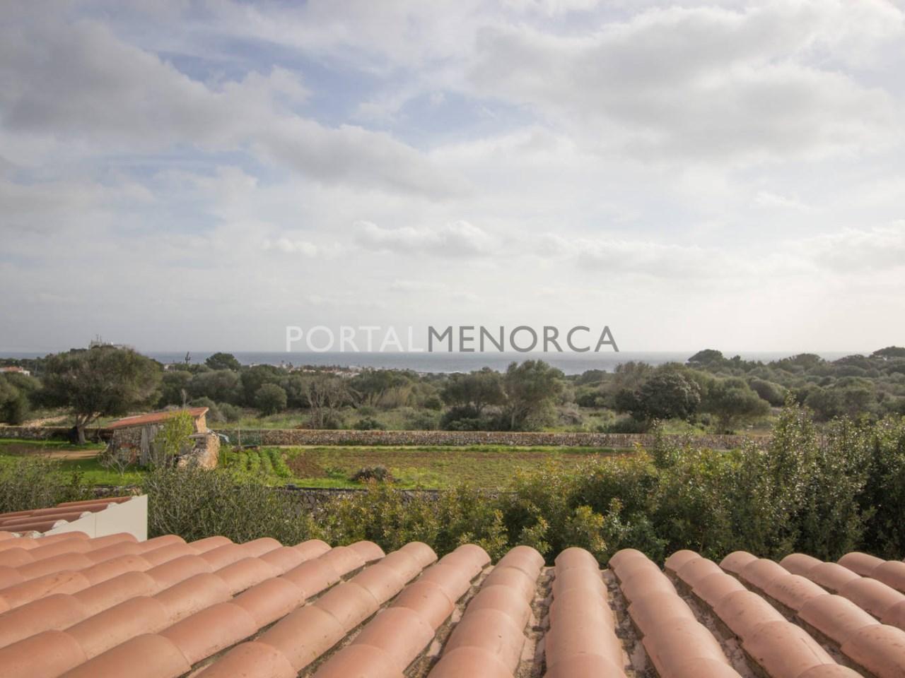 Casa de campo con vistas al mar en venta en S'Algar