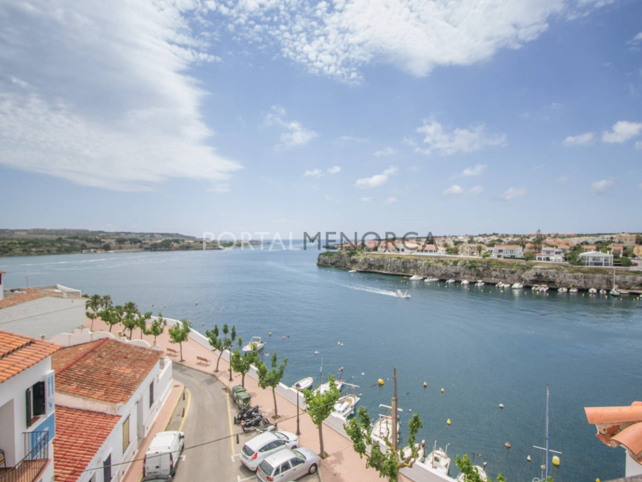 Penthouse with sea view for sale in Menorca