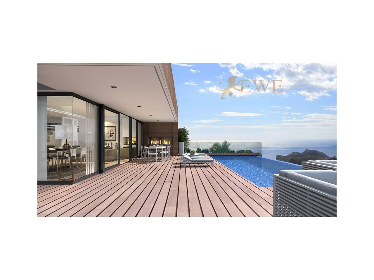 EWE - spektakuläre moderne Villa befindet sich in Cumbre del Sol, Beni
