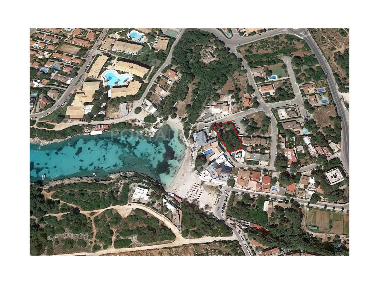 Parcela en venta en Santandria, imagen aérea